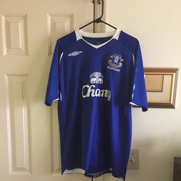 check out 5b782 85f0a Everton Soccer Jersey